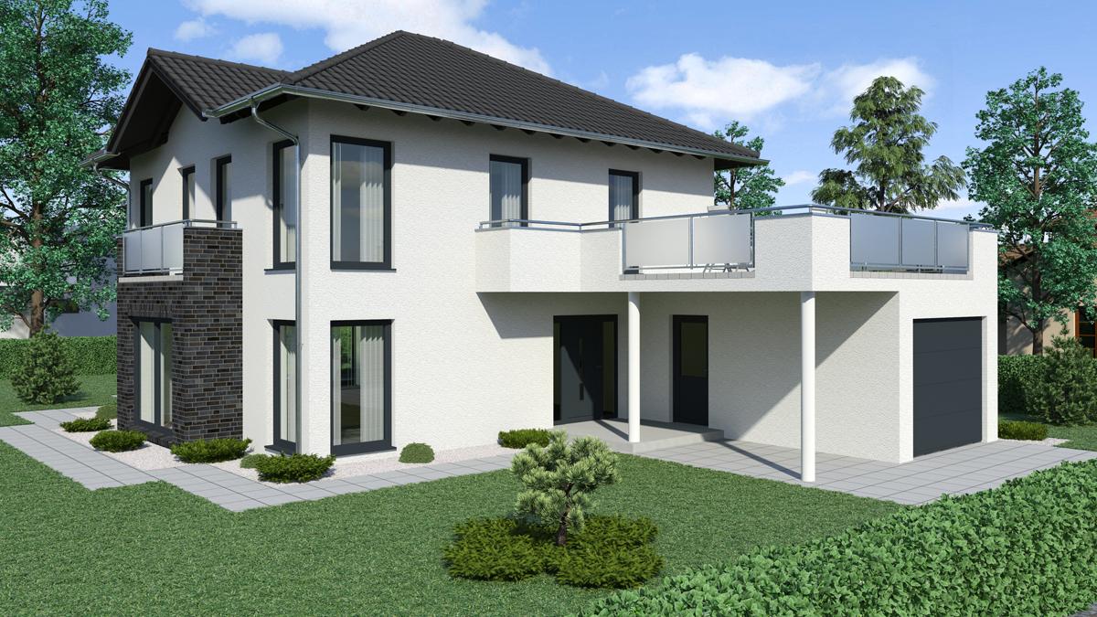 Stadtvilla modern mit anbau  Stadtvilla SV 230 - Fuchs Baugesellschaft mbH