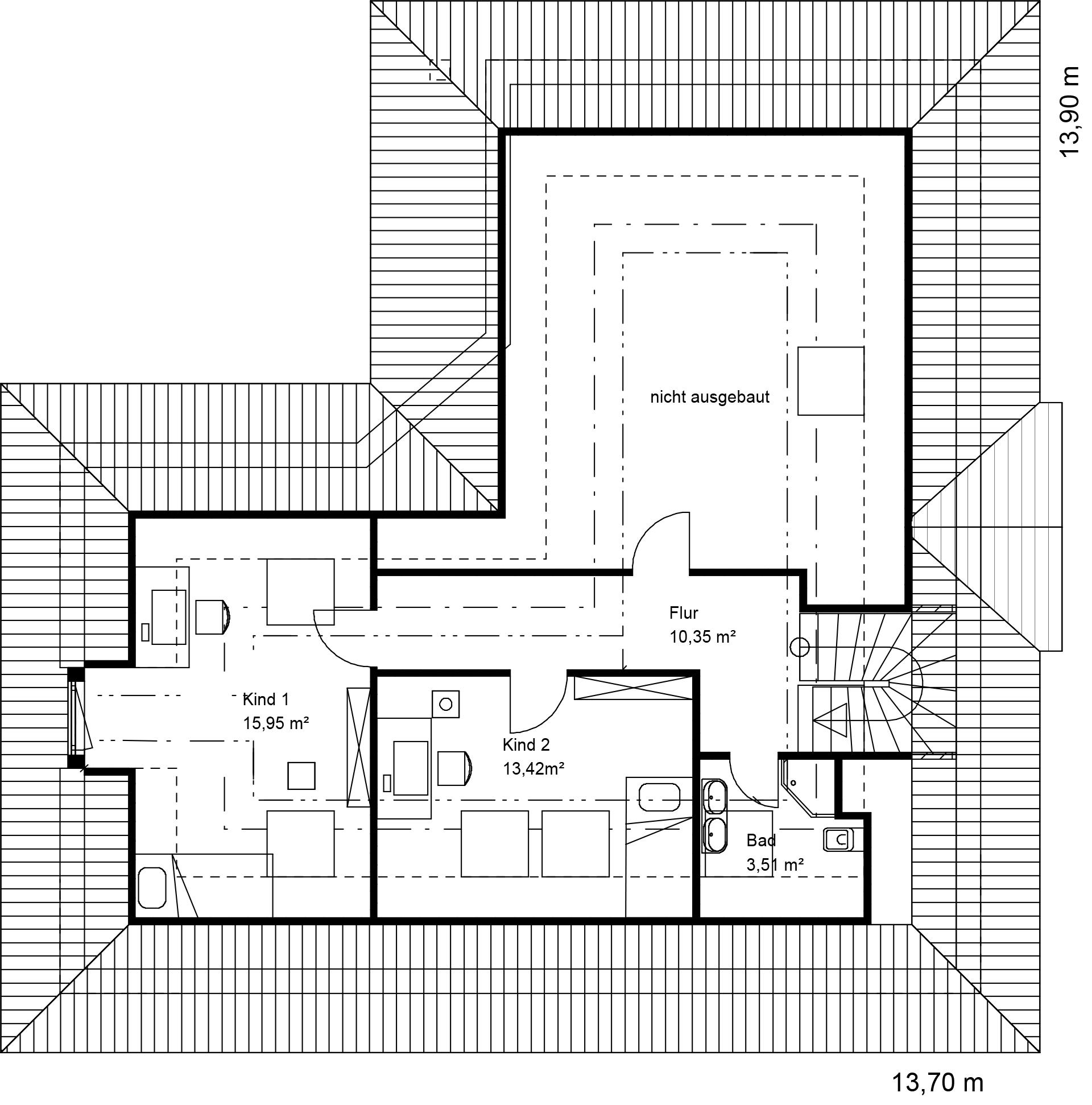 Bungalow 35° Walmdach - Fuchs Baugesellschaft mbH